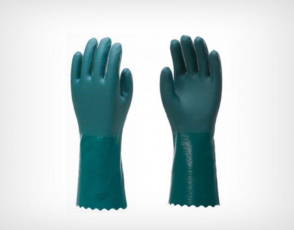 Luva em PVC forrada Suedine 25-35-45-60-70cm 2