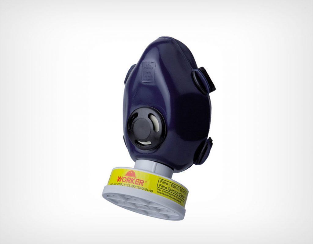 Máscara Semi-Facial para 1 filtro