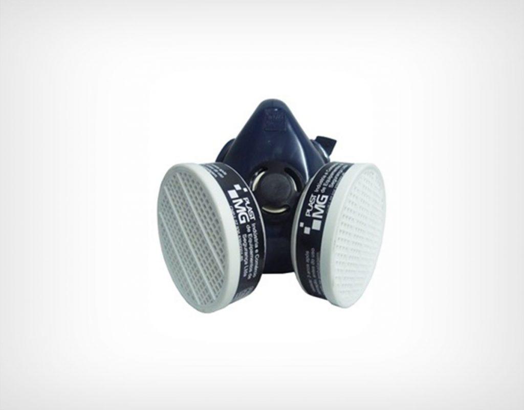 Máscara Semi-Facial para 2 filtros