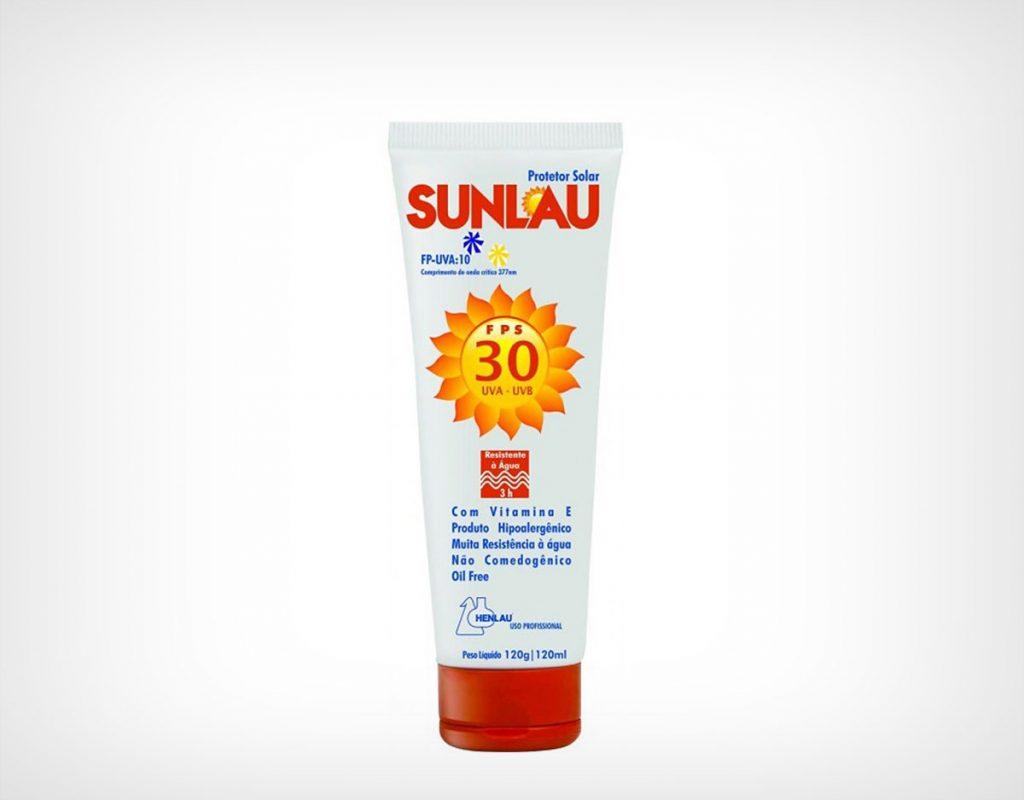Protetor Solar SunLau Fator 30